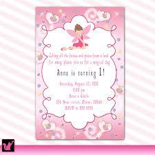 Princess Themed Invitation Card Photo Princess Theme Baby Shower Image