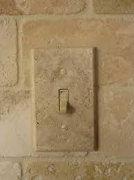travertine light switch plates installed travertine marble light switch cover plate kitchen ideas