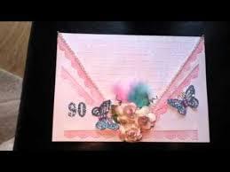 art deco style birthday card youtube