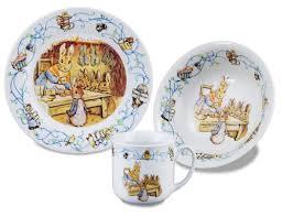 beatrix potter tea set reutter porcelain beatrix potter 150th anniversary 3