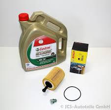 Audi Q5 5w30 - castrol edge fst 5w30 motoröl bosch ölfilter schraube