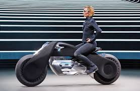 bmw motocross bike bmw s motorcycle of the future doesn t require a helmet
