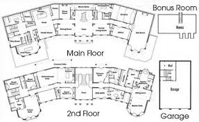 5000 to 10000 square foot house and mansion floor plans house