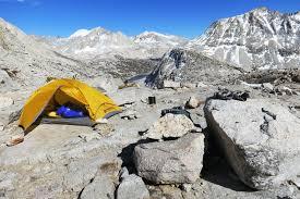 Sierra High Route Map by The Sierra High Hike U2013 Sierra Mountain Center