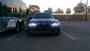 bmw e46 angel eyes led for bmw e46 99 06 3 series by helios