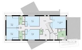 plan de maison a etage 5 chambres plan maison 2 chambres plan de maison tage de style craftsman 3