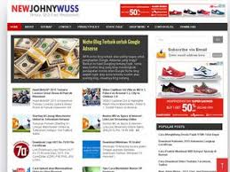 free download template blog seo friendly new johny wuss update