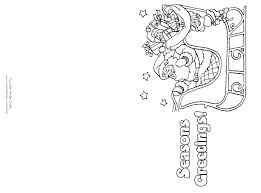 printable christmas cards free online printable christmas cards to color card coloring color your own