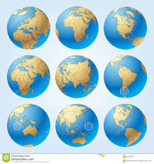 World Map Continents And Countries by World Map With Countries Borders And Earth Globes Showing All