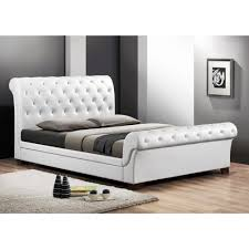 Queen Size Sleigh Bed Frame Full Size Sleigh Bed For Your Bedroom Designtilestone Com