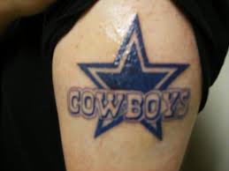 simple dallas cowboys tattoo tattoo ideas center