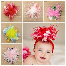 christmas hair bows baby large christmas hair bows fur flowers hair accessories animal
