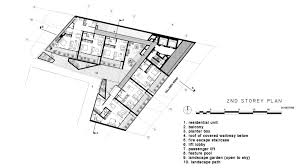 fire escape floor plan gallery of killiney road ipli architects 17