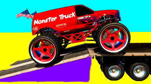 monster trucks videos for kids monster truck videos games for kids bi bi kids youtube