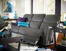 Sofa Recliner Mechanism by Contemporary Reclina Way Full Reclining Sofa With Wall Saver