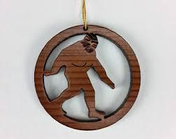 bigfoot ornament etsy