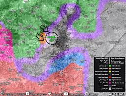 Syria Turkey Map by Day Of News On The Map February 07 2017 Map Of Syrian Civil