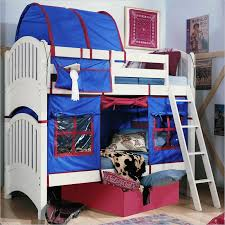 Bunk Beds Tents Lea Furniture Getaway Loft Bed With Tent