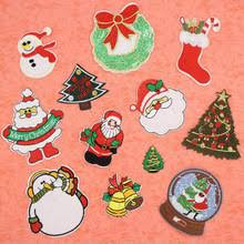embroidered christmas popular applique christmas buy cheap applique christmas