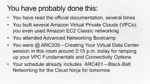 amazon black friday schedule 2014 arc403 from one to many evolving vpc design aws re invent 2014