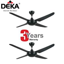 Twin Ceiling Fan by Twin Pack Deka Kronos 4 Blade Ceiling Fan F5 4p W Remote Control