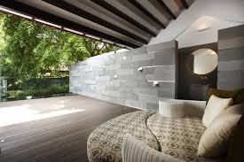 charming modern house design by richardho architects relaxing area