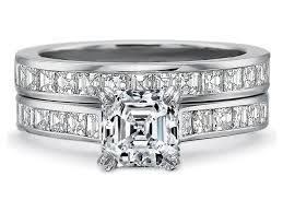 square engagement rings with band engagement ring asscher engagement ring square diamonds