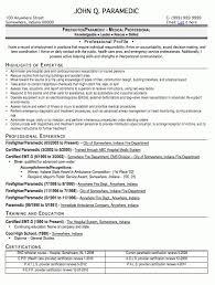 Emt Resume Job Description by Emt Resume Resume Cv Cover Letter