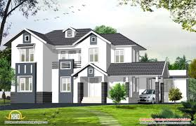 english style home 2424 sq ft kerala home design and floor plans