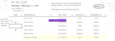 weekly task report template excel excel task template printable to do list excel template printable