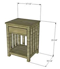 craftsman end table plans possible project woodworking
