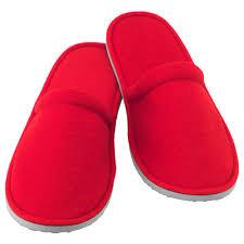 njuta slippers s m red ikea