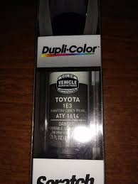 dupli color paint aty1614 toyota touch up paint 1e3 phantom grey
