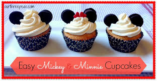 minnie mouse cupcakes simple mickey mouse cupcakes our three peas