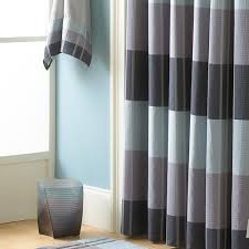 Gray And Brown Shower Curtain - shower curtains vinyl u0026 fabric croscill
