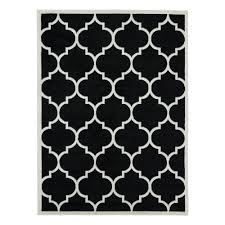 black and white area rugs mainstays drizzle area rug black white