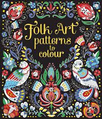 folk art patterns colour u201d usborne books