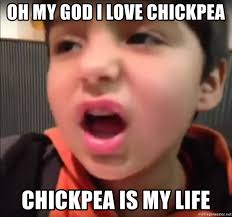 Oh My God Meme - oh my god i love chickpea chickpea is my life chipotle kid meme