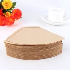 espresso coffee bag 100 pcs bag wooden original hand drip paper coffee filter espresso