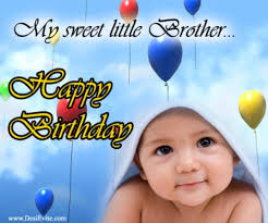 birthday greetings to my sweet little brother picsmine