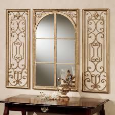 provence bronze finish wall mirror set