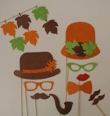thanksgiving table favors amazon com thanksgiving photo booth props decoration party favors