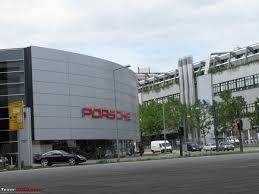 porsche museum structure porsche museum stuttgart will be opened on 31 jan 09 team bhp