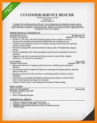 Customer Service Representative Resume Samples by 6 Customer Service Resume Samples Doctors Signature