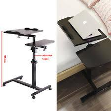 Bedside Laptop Desk Adjustable Bed Table Ebay