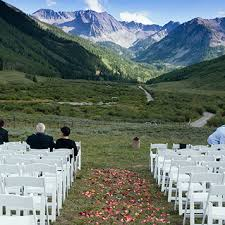 colorado mountain wedding venues aspen wedding location and aspen wedding venue pine creek