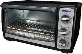 B D 4 Slice Toaster Oven Black U0026 Decker Toaster Ovens Shopswell