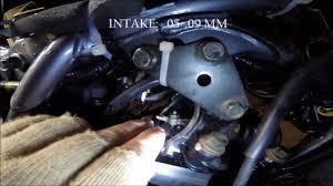 yamaha xt225 valve adjustment youtube