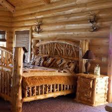 Cabin Bed Frame Log Cabin Bed Frames Best 25 Log Bed Frame Ideas On Pinterest Log