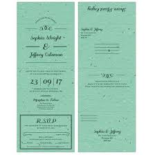 send and seal wedding invitations seal and send wedding invitations catalog botanical paperworks
